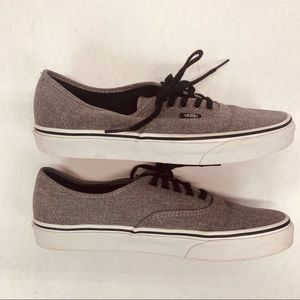 Vans Off The Wall Mens Gray Sz 10 Skateboard